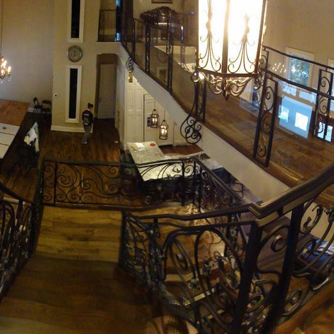 Photo of Railings Inside Custom Home