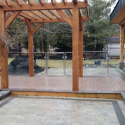 Photo of Outdoor glass Railings