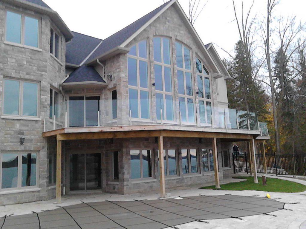 glass railings image
