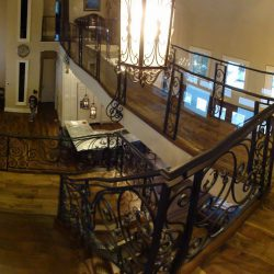 Photo of Second Floor Railings