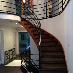 Photo of round Indoor Railings