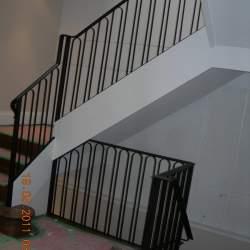 Railings inside the house