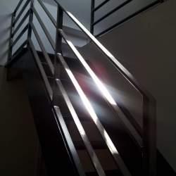 stainless steel indoor railings