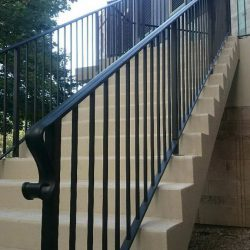 Image of outdoor railings