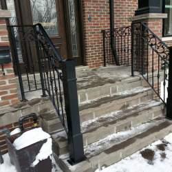 modern outdoor-railings