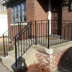 front porch outdoor-railings image