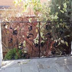 backyard outdoor railings