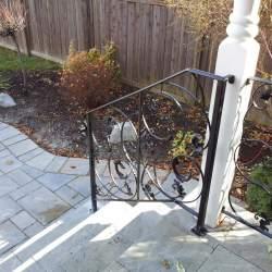 backyard porch railings