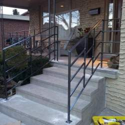 front outdoor-railings