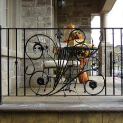 photo of front porch outdoor railings