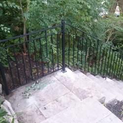 Image of custom outdoor railings