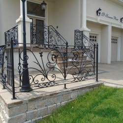 Wrought iron railings (4)