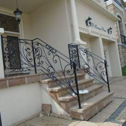 Wrought iron railings (5)
