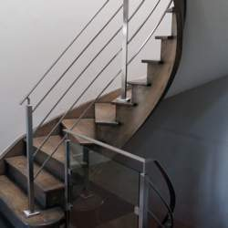 indoor steel railings