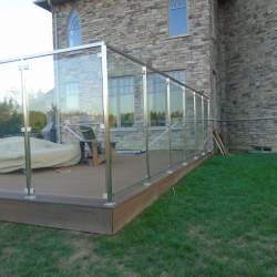 porch outdoor stainless steel railings