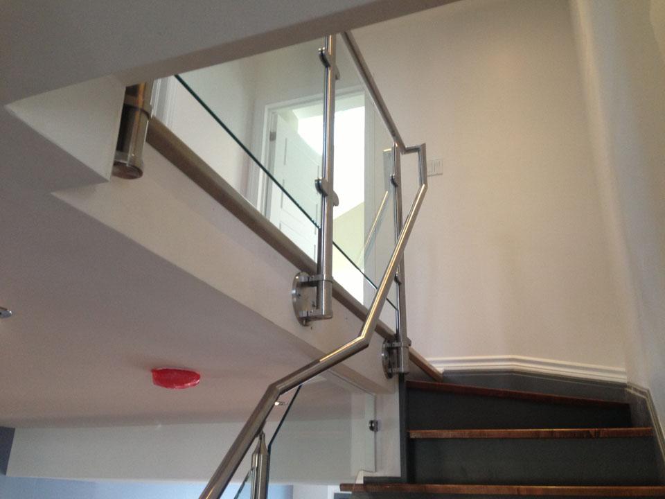 steel railings example image
