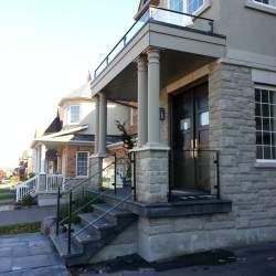 outdoor stainless steel railings
