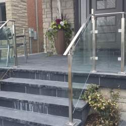 outdoor steel railings