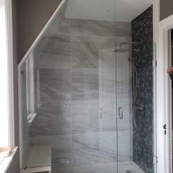 modern Glass Shower Enclosure