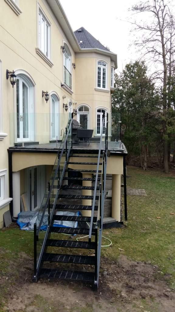 Photo of Outdoor Stair Steel