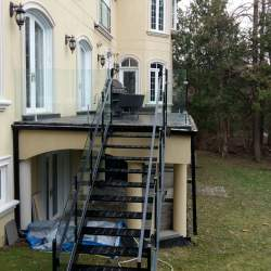 Photo of Outdoor Stair Steel